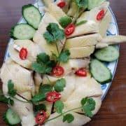 Hainanese Chicken Rice, Easy 5 Step Recipe