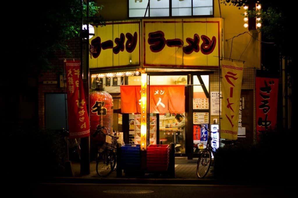 在日本,深夜都能找到营业的拉面馆。 照片来源:  JapanResor