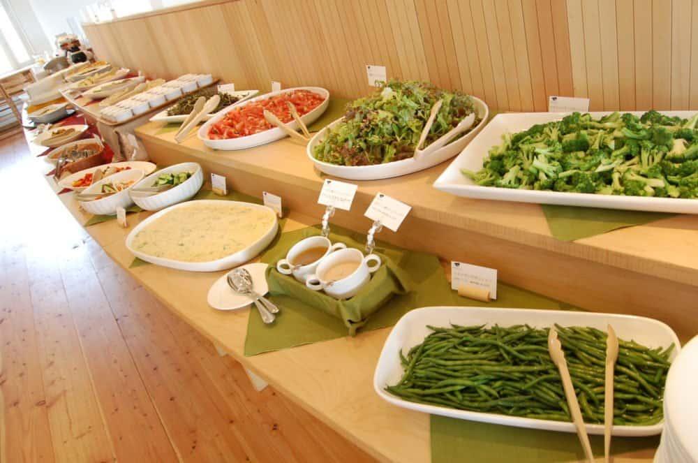 Prativo's all-you-can-eat vegeterian buffet.