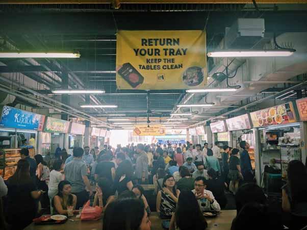 Authentic Hawker Market, Market Street Interim Hawker Centre