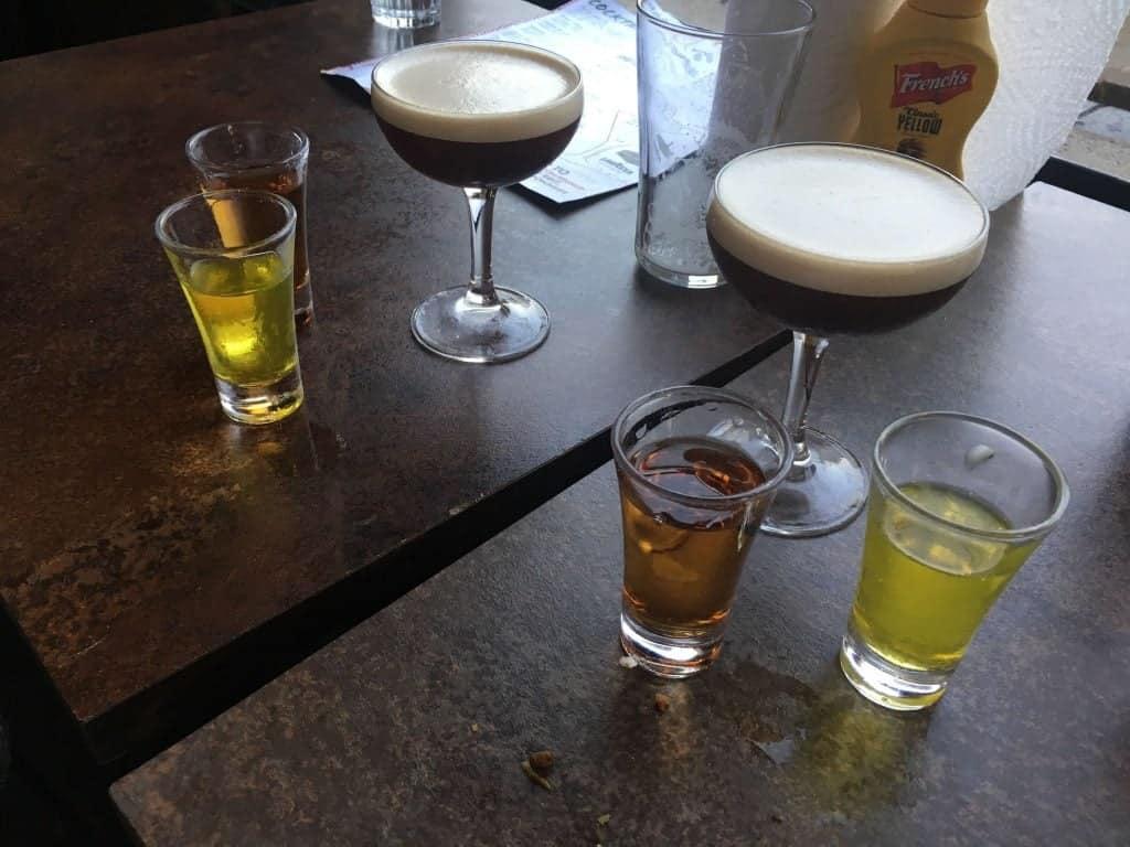 Espresso Martini at Meat Liquor N1.  Photo credit: Kevin Lee