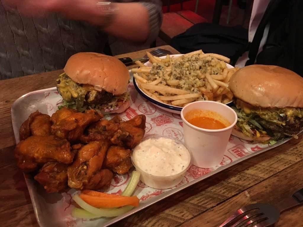 Green Chili Cheese Burger at Meat Liquor. Photo credit: Kevin Lee