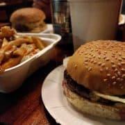 True to Its Name, Bleak Burgers Served at Bleecker Street Burger