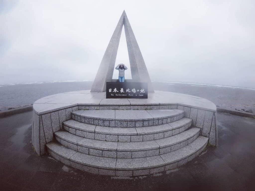 Cape Soya, The Northernmost Point in Japan, Wakkanai, Hokkaido.