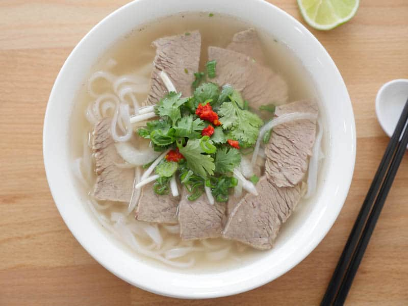 Brisket Pho, a hearty option for those looking for a filling meal.