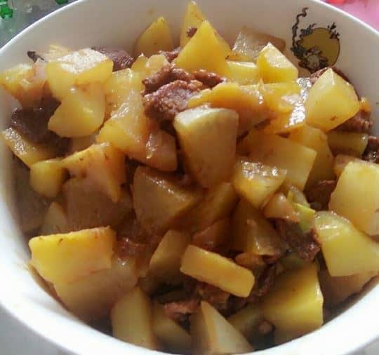 mooli-or-daikon-with-potatoes