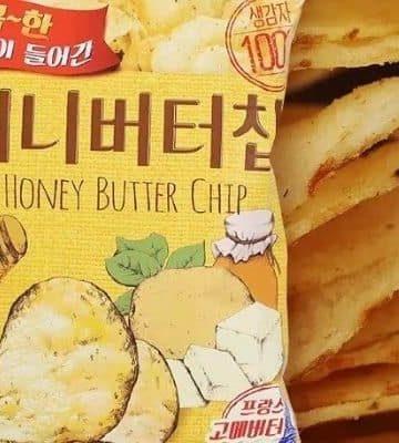 Best asian snacks honey butter chips