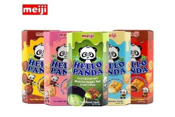 Hello Panda chocolate filled biscuit
