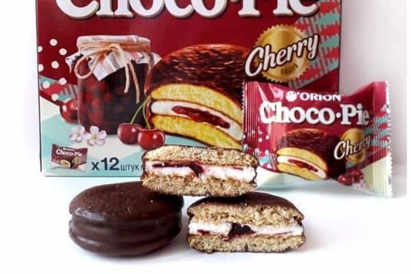 Best asian snacks Orion Choco Pie