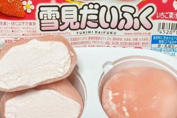 Best Asian snacks mochi ice cream