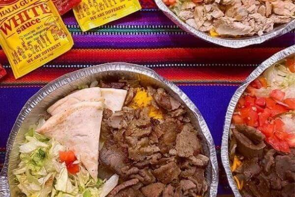 Beef Gyros Platter From Halal Guys