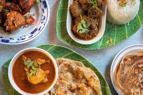 halal food Roti canai