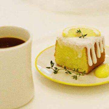 氣炸鍋蛋糕 檸檬