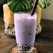 Taro Milk Tea in 2 Ways! Make From Fresh Paste or Powder