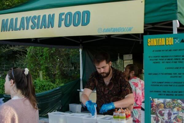 Santan Boi Malaysia Street Food