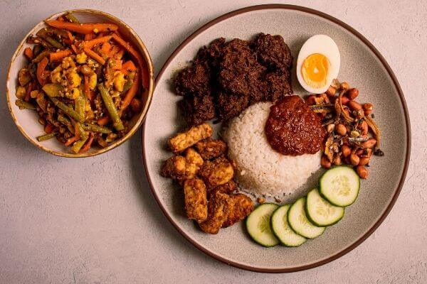 Santan Boi Nasi Lemak Malaysian Cuisine