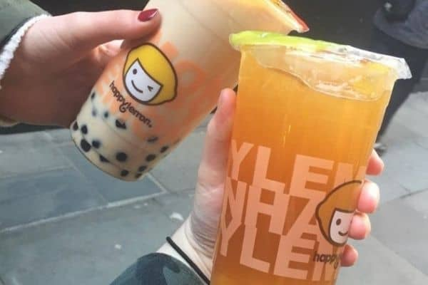 Happy Lemon Rock Salted Cheese Bubble Tea in London