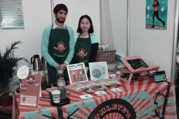 Athletes Brew Co Founders Dariush and Crystal