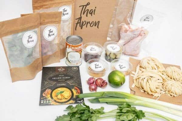 Thai Apron Meal Kit Yellow Curry
