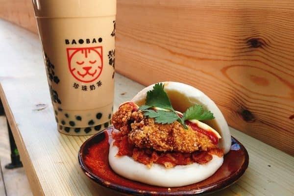 Authentic Taiwanese Food Bao and Bubble Tea