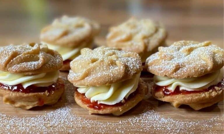Best British Snacks Viennese Whirls