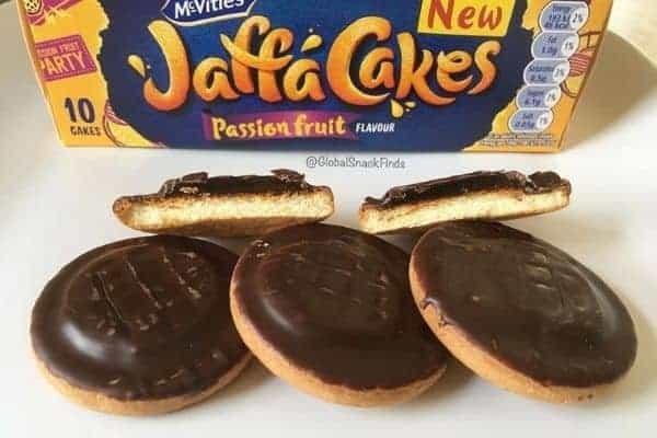 Jaffa Cakes Passion Fruit Flavour