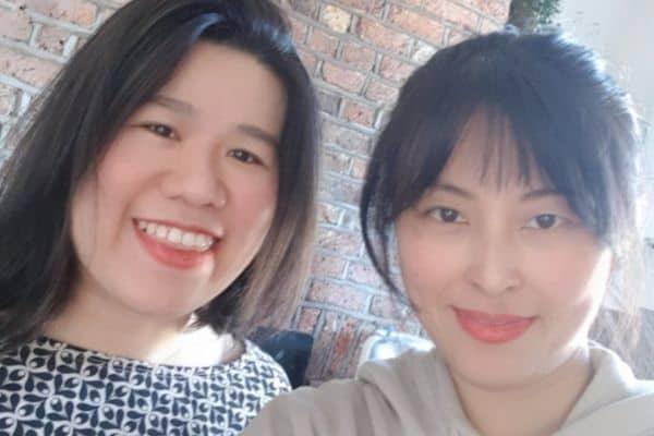 Kini Patisserie co-founders Eu Jing Hooi and Jisun Shin