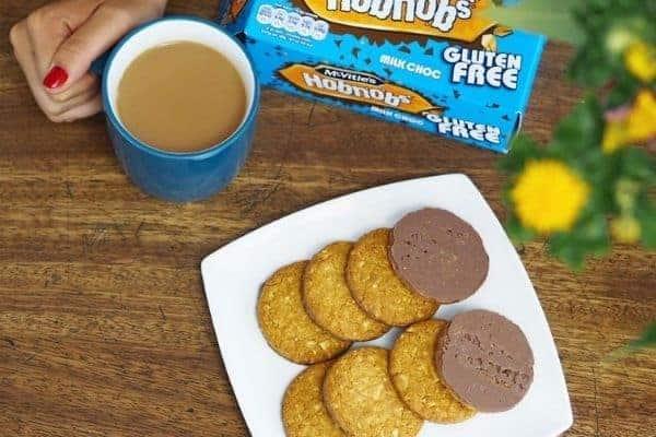 McVitie's Gluten Free Milk Chocolate Hobnobs