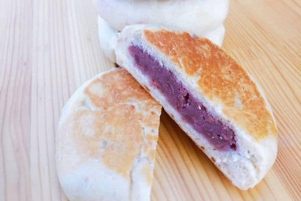 Shaobing with Taro filling