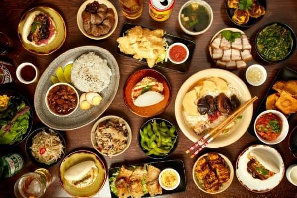 Authentic Taiwanese Food Spread BAO BAO