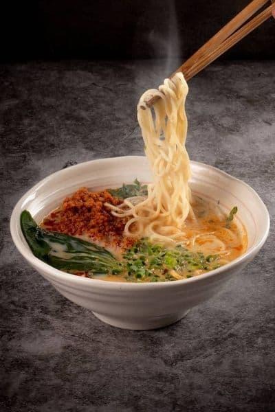 Bowl of delicious Dandanmian noodles