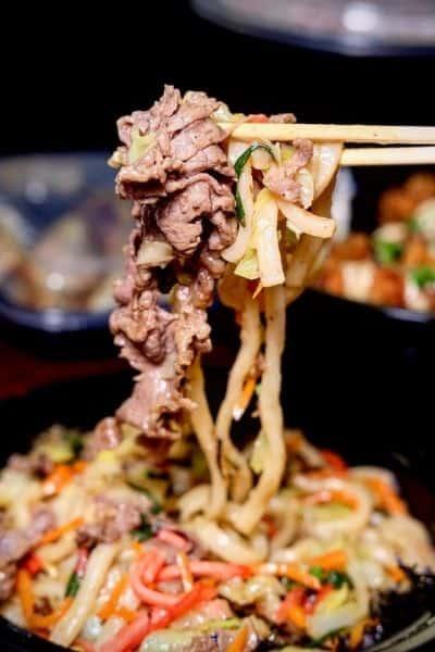 Delicious Stir-Fried Japanese Noodles