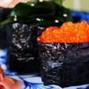Gunkan Maki Recipe, Make Battleship Sushi in Less Than 15 Minutes