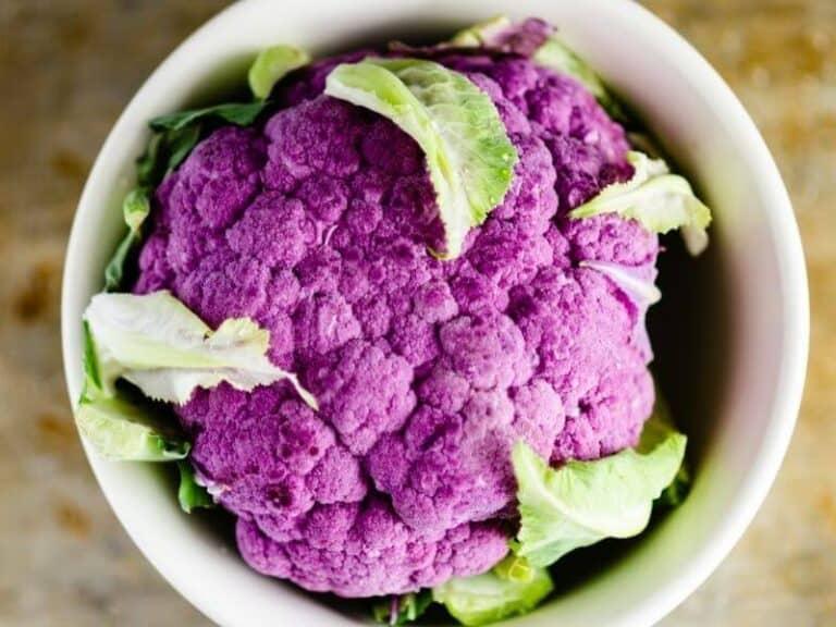 Purple Vegetable Cauliflower