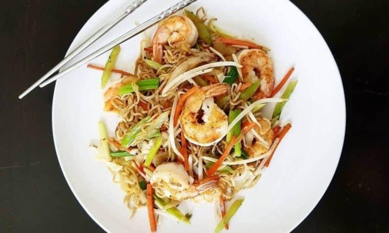 Shrimp Chow Mein Recipe