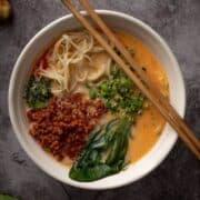 Tantanmen In 15 Mins, Easy Tan Tan Ramen Recipe