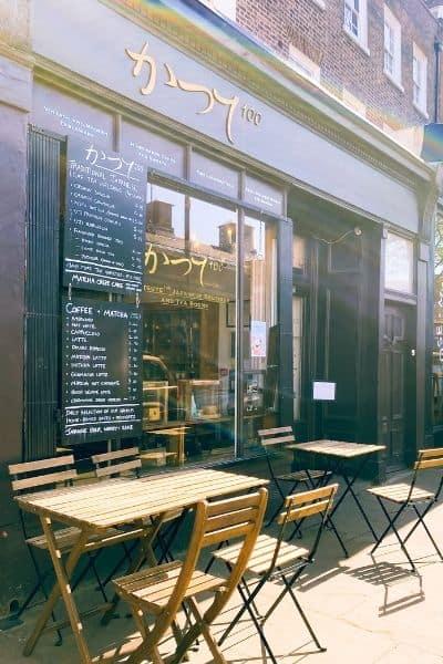 Tea House, Katsute 100 in Angel, London
