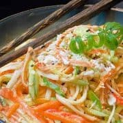 Kani Salad (Spicy Crab & Mango Salad) Recipe in 10 Minutes!