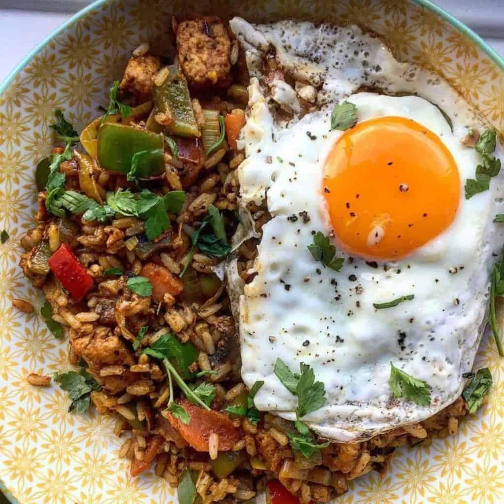 Stir Fried rice with egg