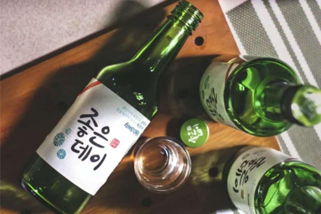 soju korean alcohol