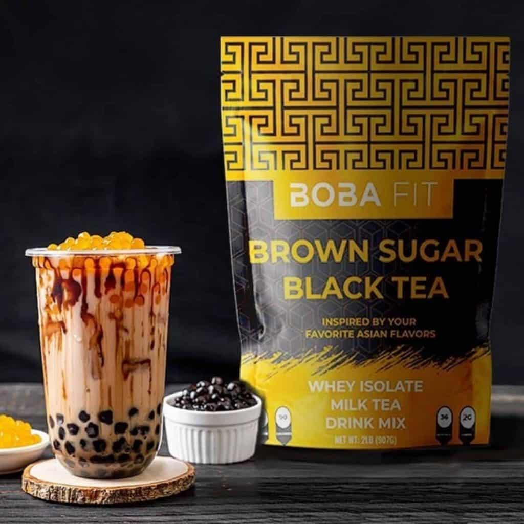 Boba Fit Whey Isolate Milk Tea Brown Sugar Flavour