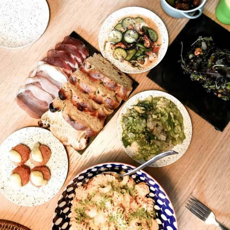 Kosher meal platter