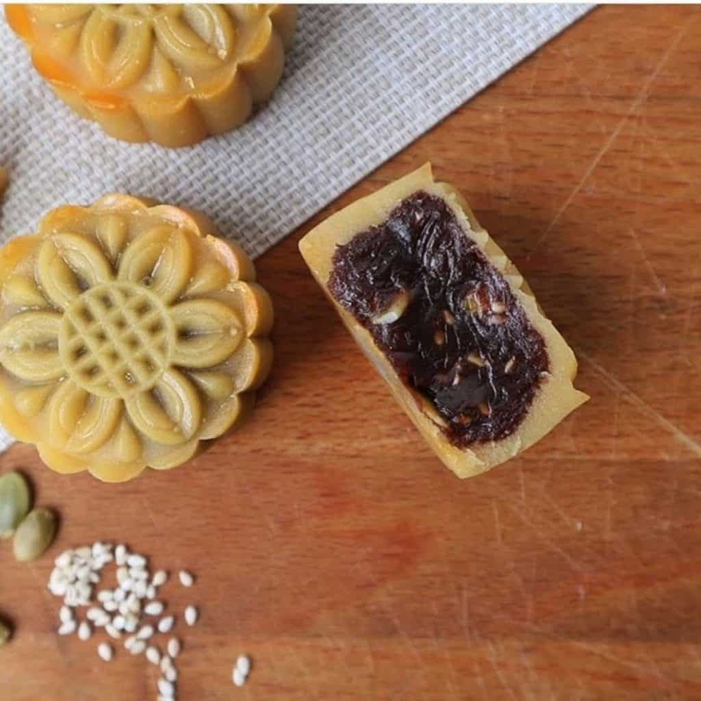 Mooncake Red Bean Flavour