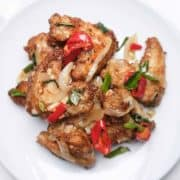 Salt and Pepper Chicken Wings, A Chinese Takeaway Classic at Home
