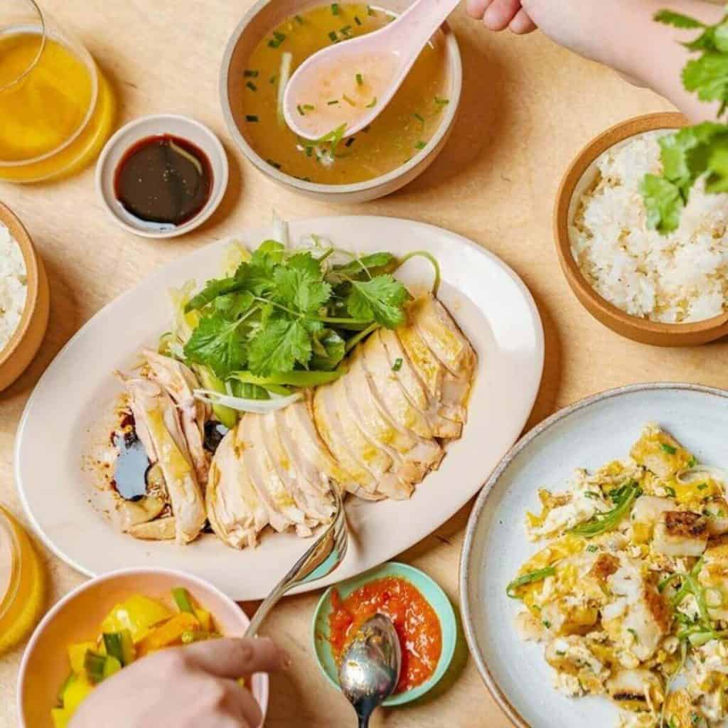 Singapore food in london