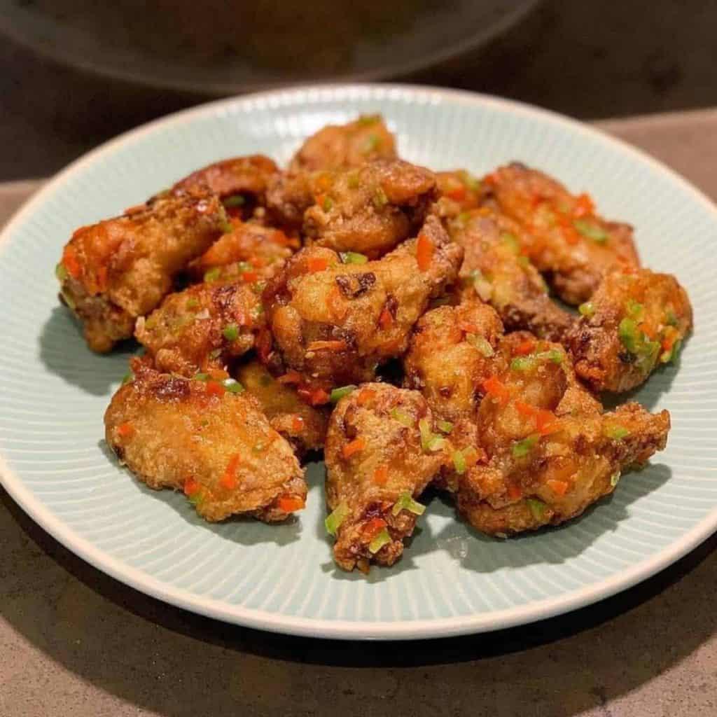 Szechuan style fried chicken