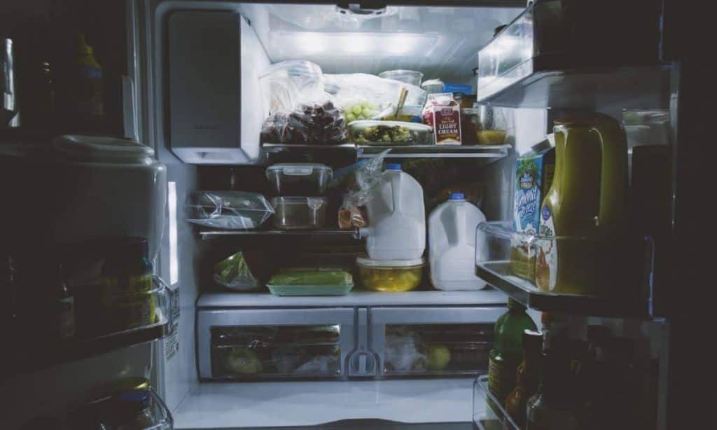 A full fridge