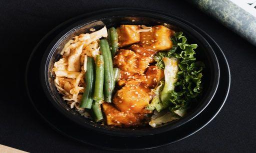 Asian Air Fryer Recipe, Honey Garlic Tofu