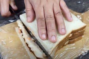 Cut the crust off