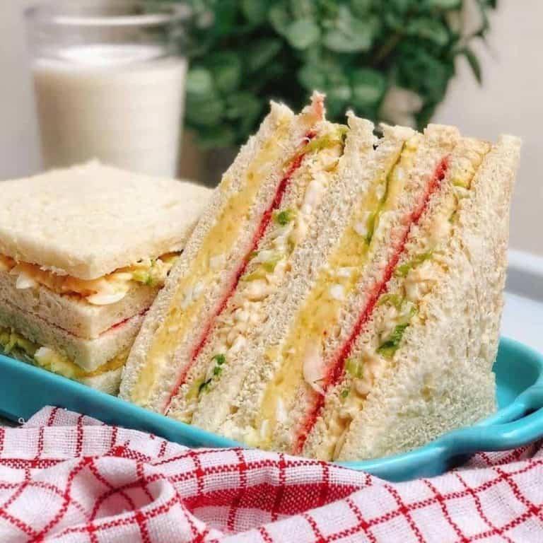 Inkigayo sandwich kpop idol snack recipe